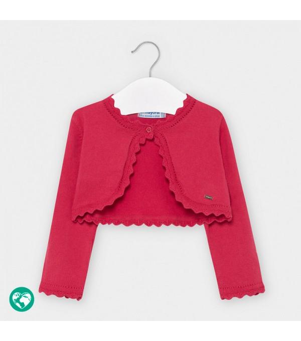 Bolero corai tricot basic bebe fetita 00308 MY-BO101Y