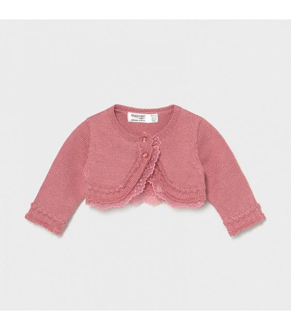 Bolero roz-pal tricot fetita Mayoral My-bo02x