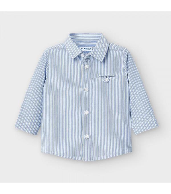 Camasa cu dungi bleu verticale bebe baiat MAYORAL 2128 MY-CM106Y