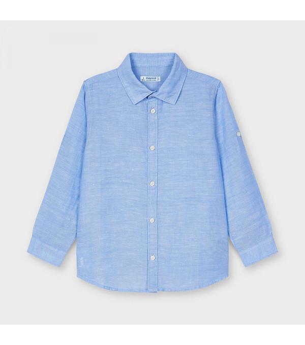 Camasa bleu in basic baiat 00141 MY-CM04X