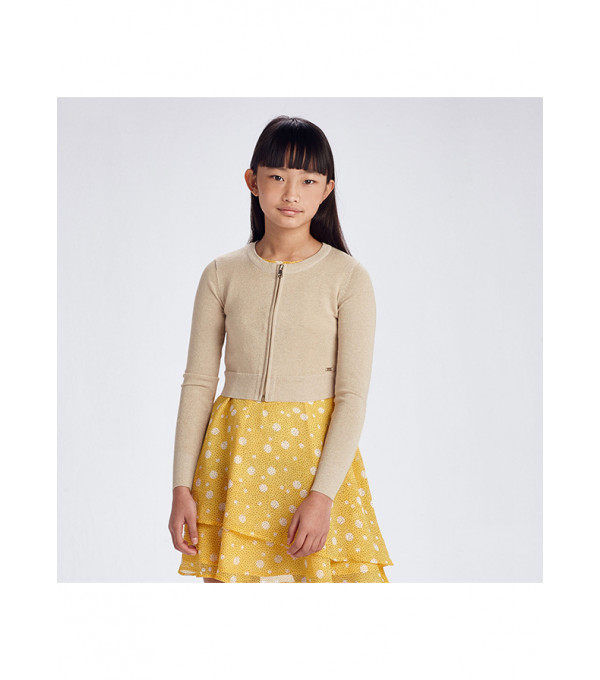 Cardigan Ecofriends tricot fermoar fata 6319 MY-BL80Y