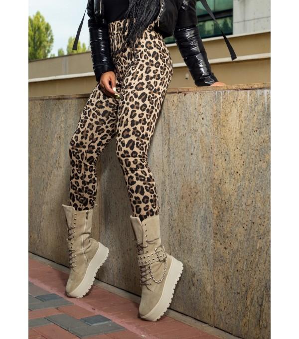 Pantaloni animal print Mexton MEXPL8272V