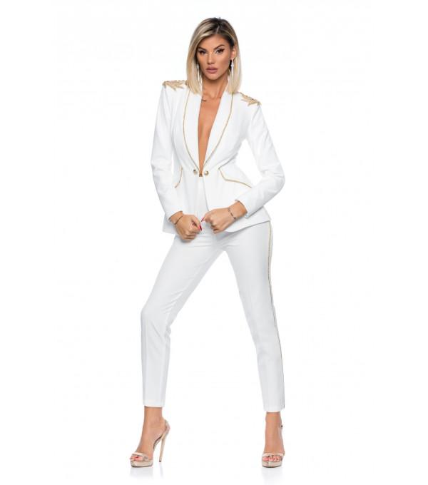 Costum alb dama  BBY-CS52y