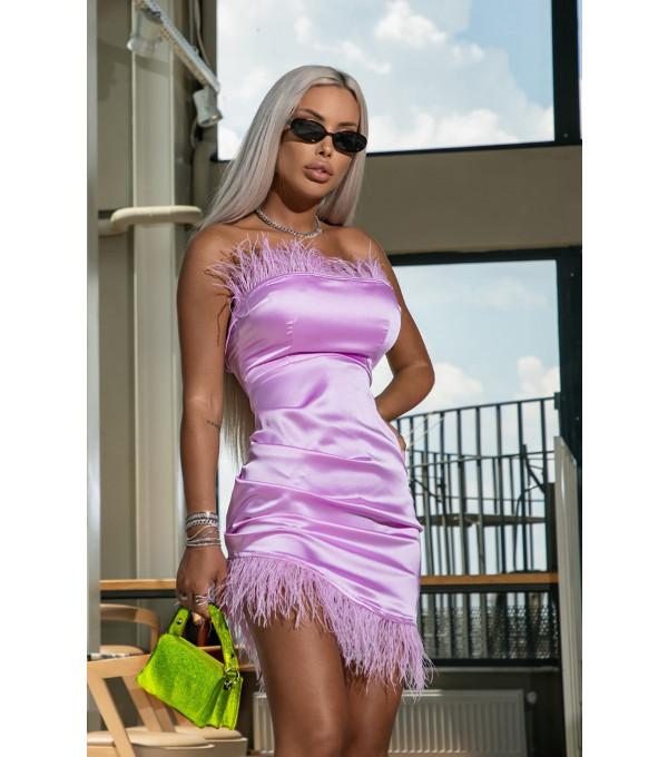 Rochie lila Mexton MEXR8755Y