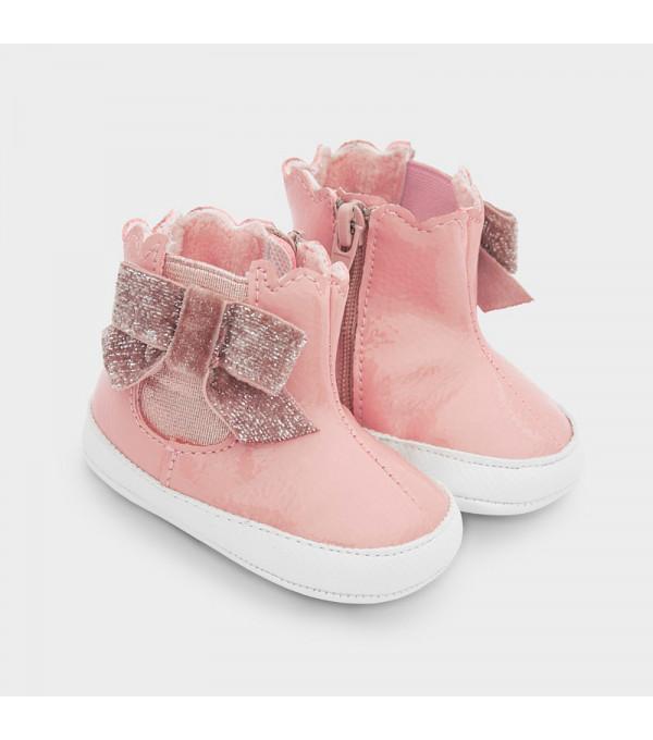 Ghete lac roz new born fata 09343 MY-GHE100Y
