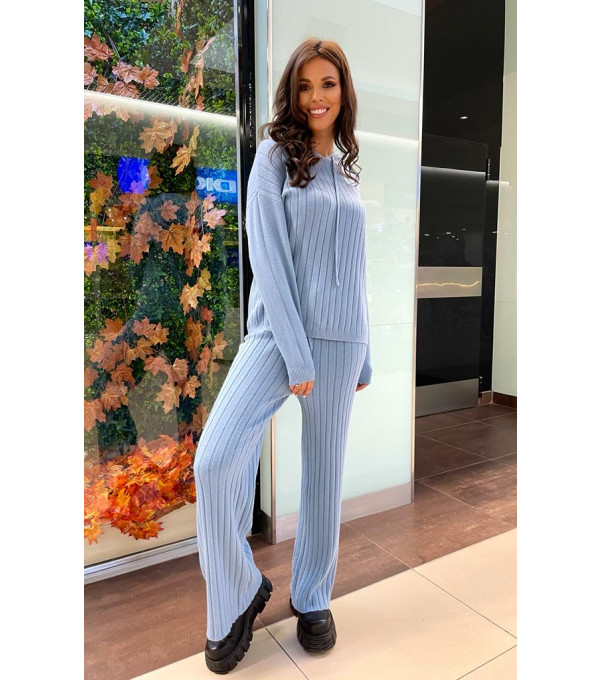 Trening blue mohair IT-TRG05Y