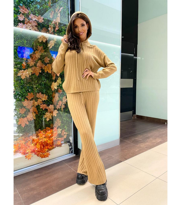 Trening camel mohair IT-TRG05Y
