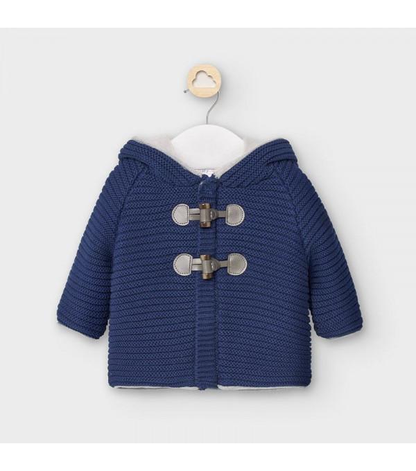 Jacheta tricotata nou-nascut baiat 02335 MY-G101Y