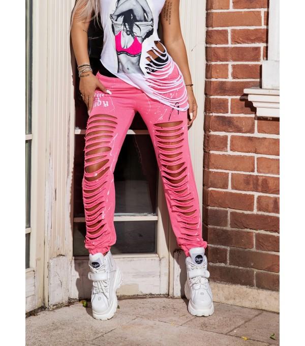 Pantaloni pink Mexton mexpl8098z