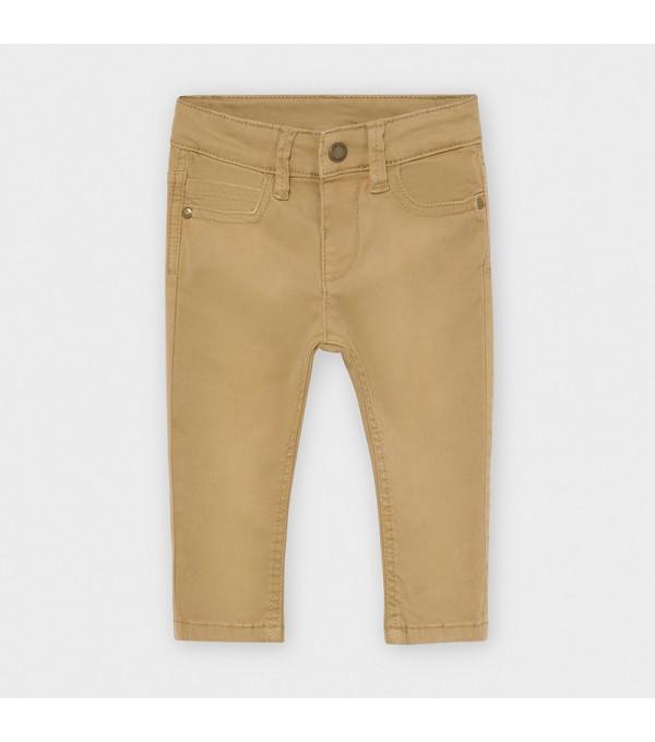 Pantaloni crem slim fit bebe baiat MAYORAL 563 MY-PL109Y