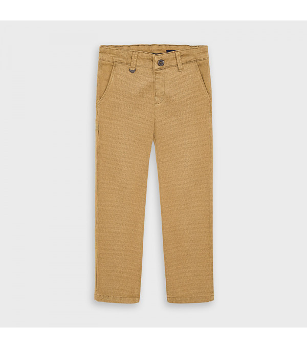 Pantaloni lungi chino imprimeu baiat 4529 MY-PL107Y