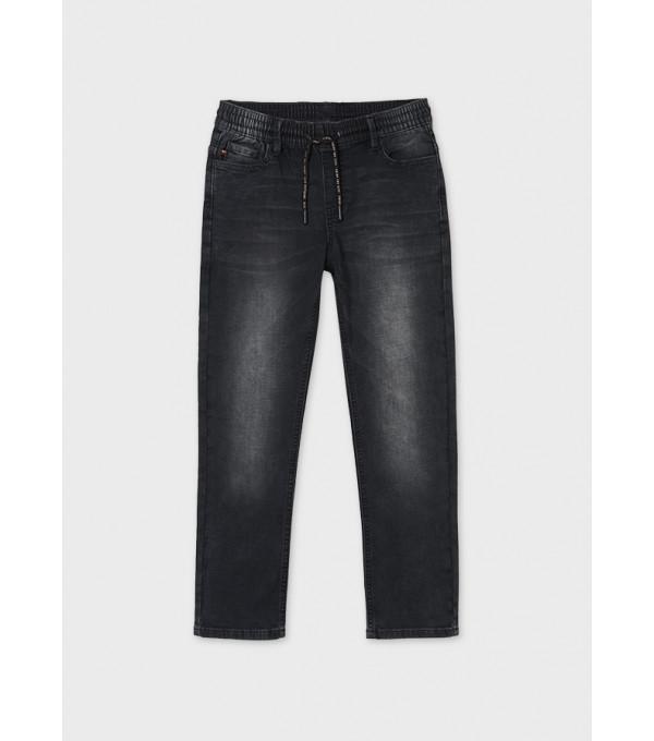 Pantaloni lungi ECOFRIENDS soft denim baiat 7555 MY-BG14Y
