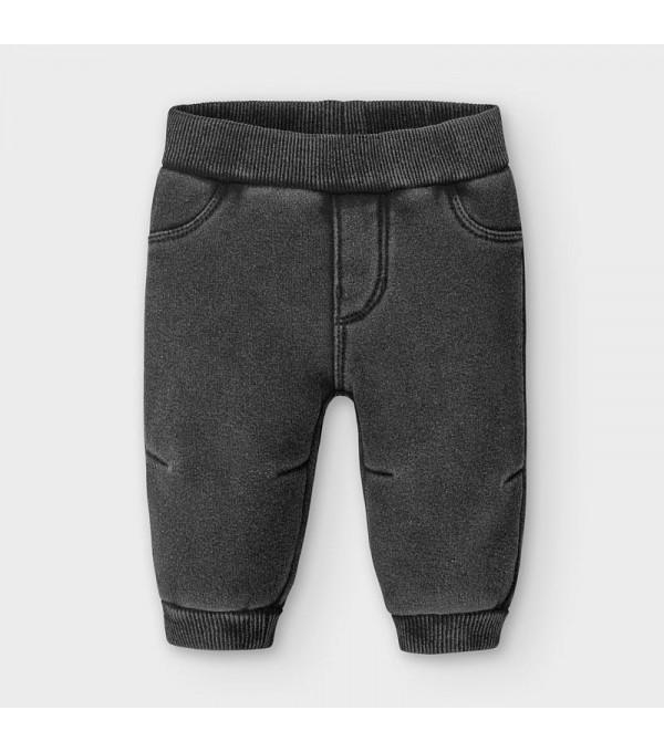 Pantaloni negri plus denim nou-nascut baiat 02566 MY-PL115Y