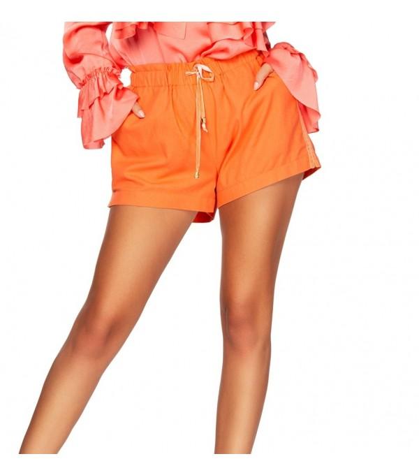 Pantaloni scurti portocaliu dama BBY-PS04z