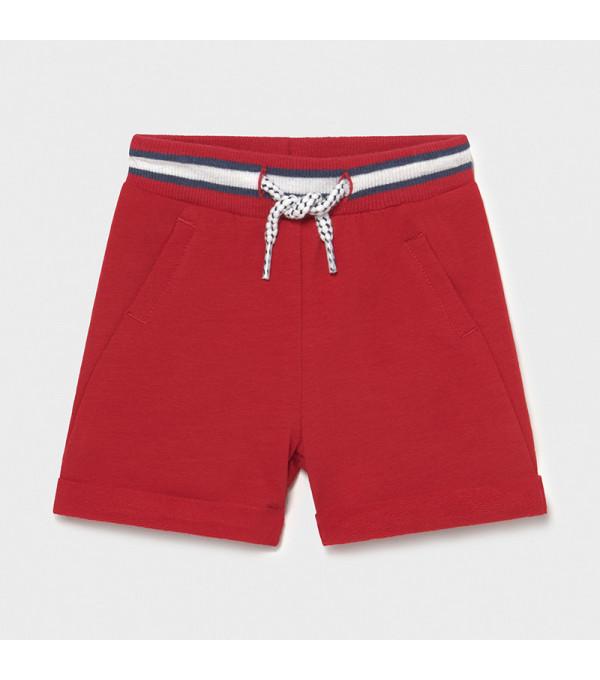 Pantaloni scurti rosii plus nou-nascut baiat 1212 MY-PS07X