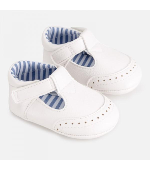 Pantofi albi Mayoral MY-PANTF01P