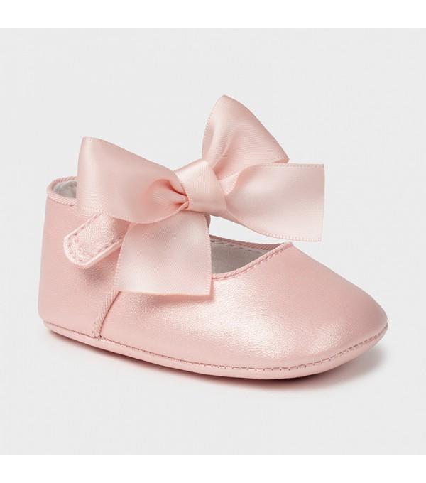 Pantofi ceremonie funda roz new born fata Mayoral 09404 MY-PANTF04X