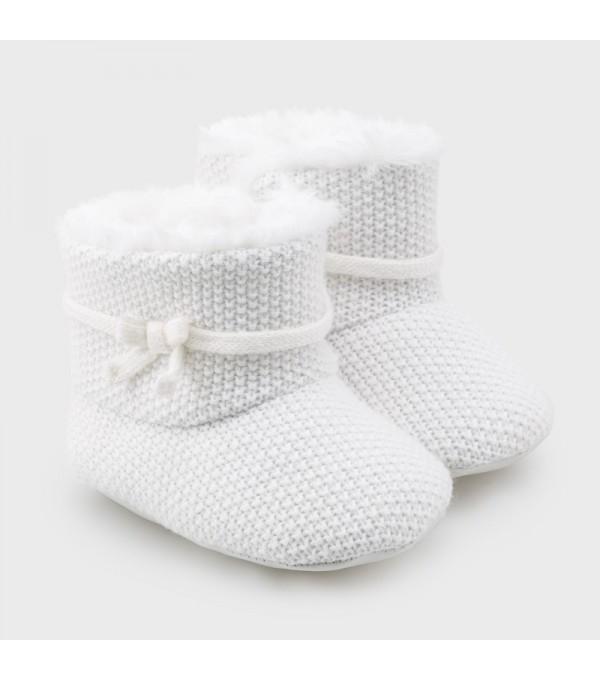Pantofi albi Mayoral MY-GHE01V