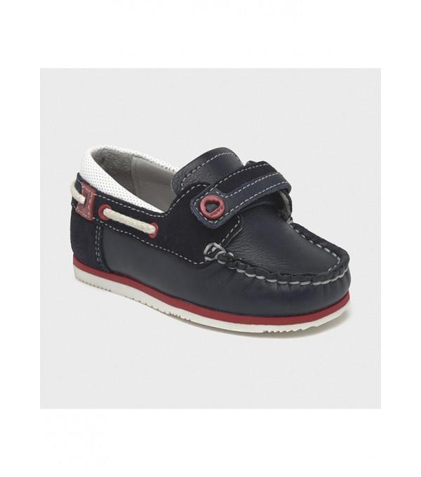 Pantofi nautic piele baiat 43284 MY-PANTF18X