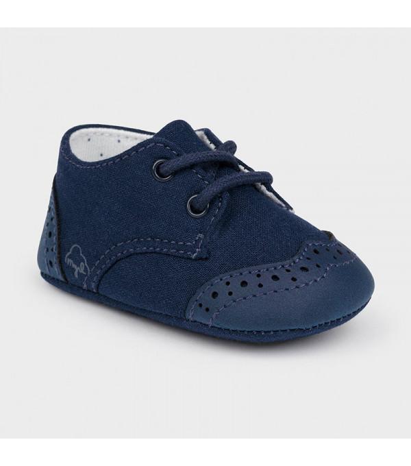 Pantofi bleumarin  nou-nascut baiat 9391 MAYORAL MY-PANTF01X