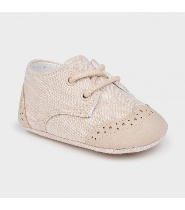 Pantofi bej nou-nascut baiat 9391 MAYORAL MY-PANTF01X