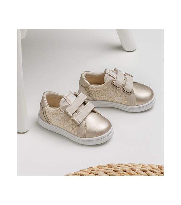 Pantofi sport dantela bebe fetita 41248 MY-PANTF83Y