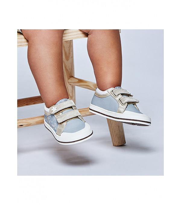 Pantofi sport panza stelute bebe fetita 41250 MY-TEN06X