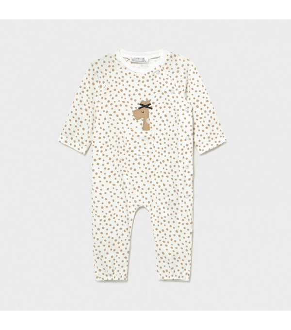Pijama buline new born fata 1615 MY-PIJA04X