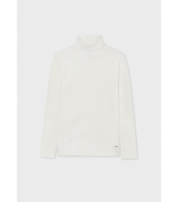 Pulover tricot ECOFRIENDS basic guler inalt fata 345 MY-BL75Y