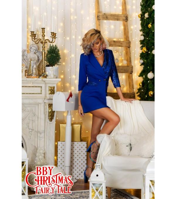 Rochie albastra BBY-R41v