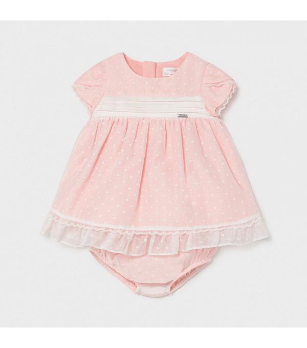 Rochie roz pal bebe fetita 01819 Mayoral My-r01x
