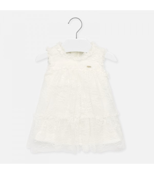 Rochie de dantelă pentru fete Mayoral MY-R09P