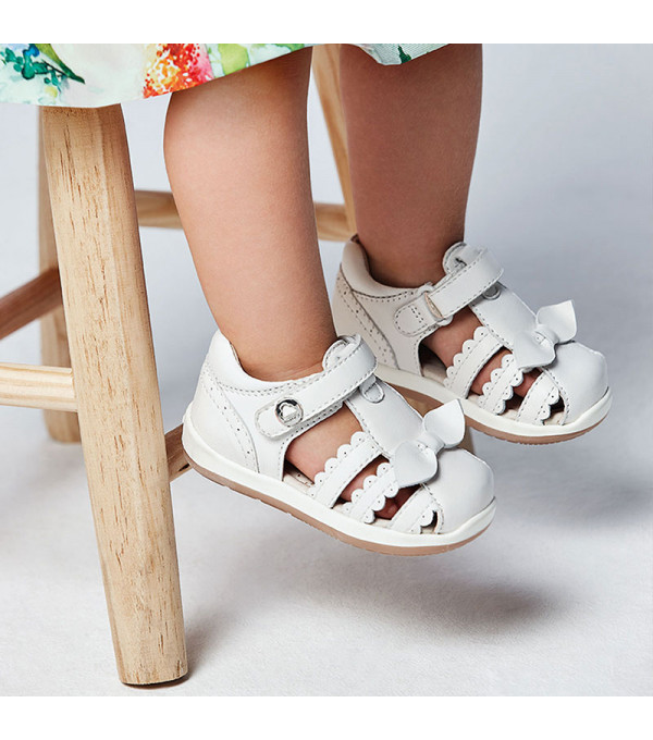 Sandale piele funda primii pasi bebe fetita 41238 MY-SAND07X