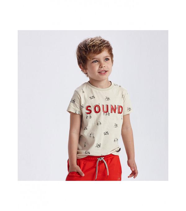 Tricou maneca scurta sound baiat 3050 MY-BL18X