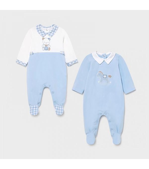 Set 2 body bleu baiat bebe Mayoral 01626 MY-SET01X