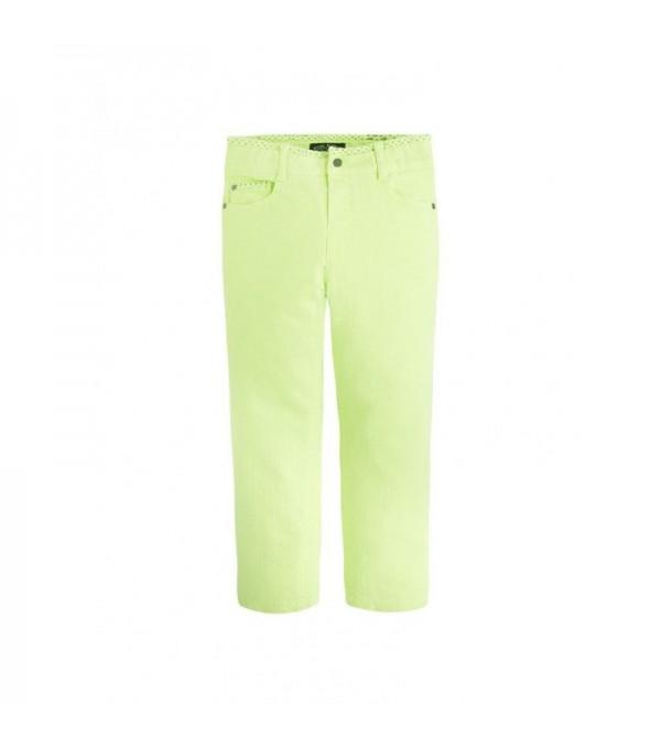 Blugi verde neon baieti Mayoral My-bg404a