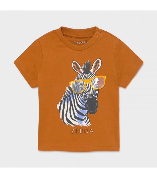 Tricou PLAY WITH imprimeu interactiv bebe baiat 1001 MY-BL32X