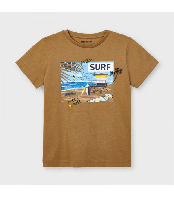 Tricou Surf bumbac sustenabil Ecofriends baiat 3031 Mayoral MY-BL65X
