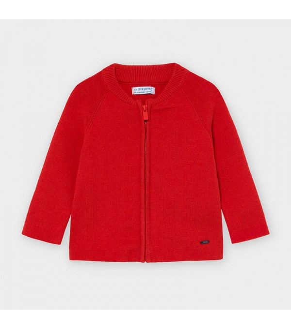 Jacheta rosie tricot baiat MAYORAL 361 MY-BL160Y