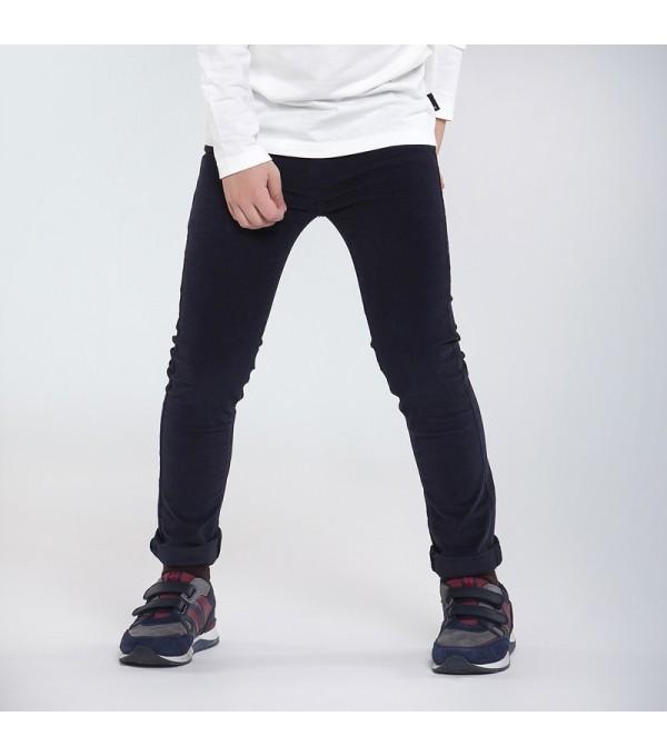 Pantaloni bleumarin raiati slim fit baiat MAYORAL 547 MY-PL131Y