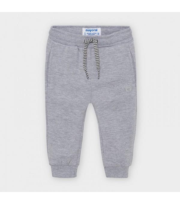 Pantaloni lungi plusati basic bebe baiat MY-PL03V