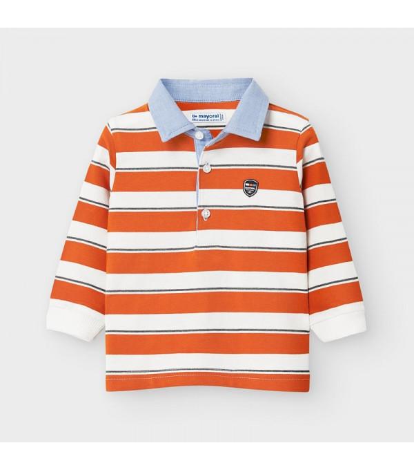 Bluza polo portocalie baiat MAYORAL 2123 MY-BL119Y