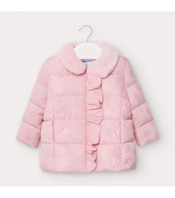 Geaca roz buline fetita 2410 Mayoral My-g26v