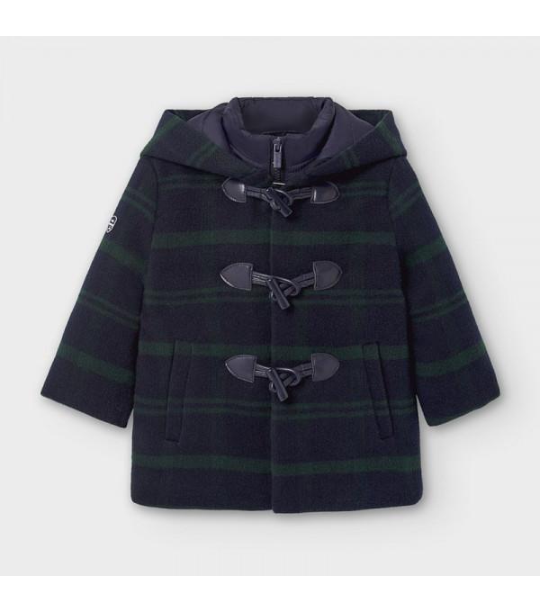Palton cu gluga bebe baiat 2488 MY-G114Y