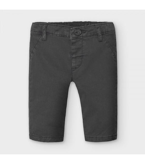 Pantaloni chino gabardina nou-nascut baiat 2567 MY-PL19V