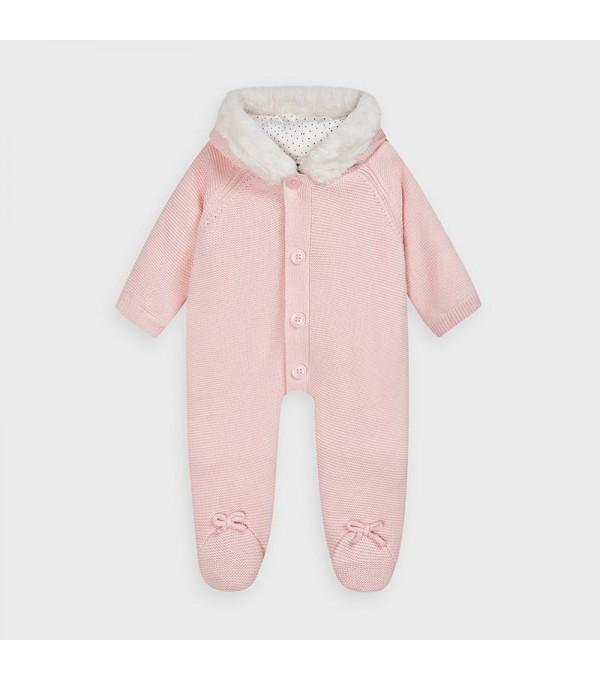 Combinezon tricot nou-nascut baiat MY-COMB02V