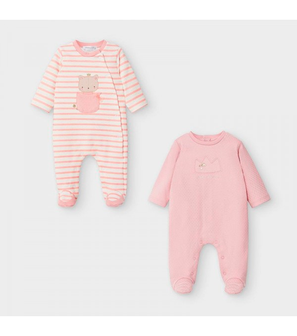 Pijama roz Mayoral My-set10v