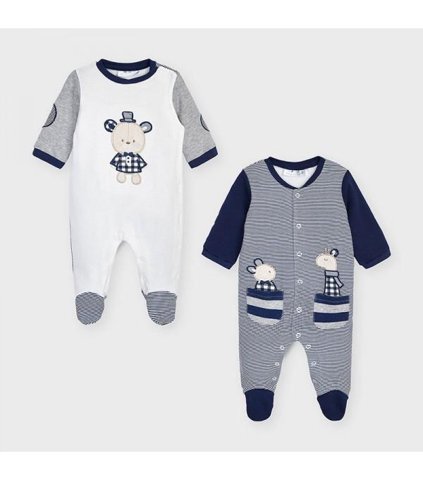 Set 2 pijamale nou-nascut baiat MY-SET33V
