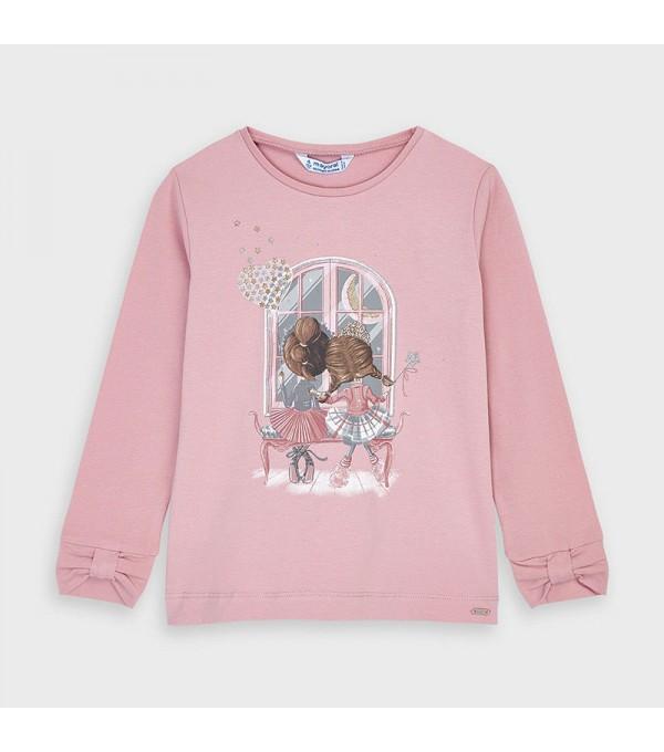 Bluza roz Mayoral My-bl55v