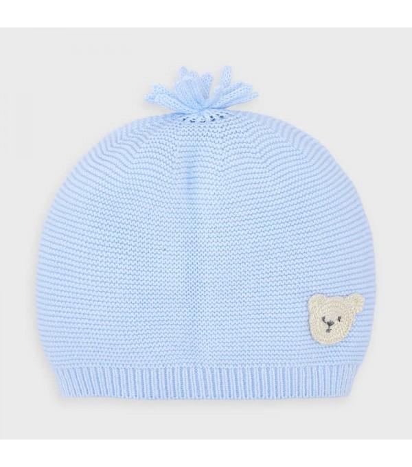 Caciula tricot nou-nascut baiat MY-CACIUL02V